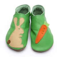 rabbit and carrot green